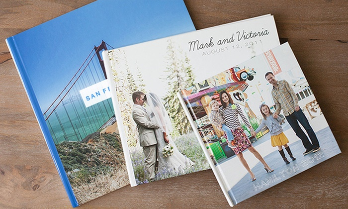 Picaboo: 20-Page Custom Hardcover Photo Book from Picaboo (Up to 75% Off). Three Options Available.