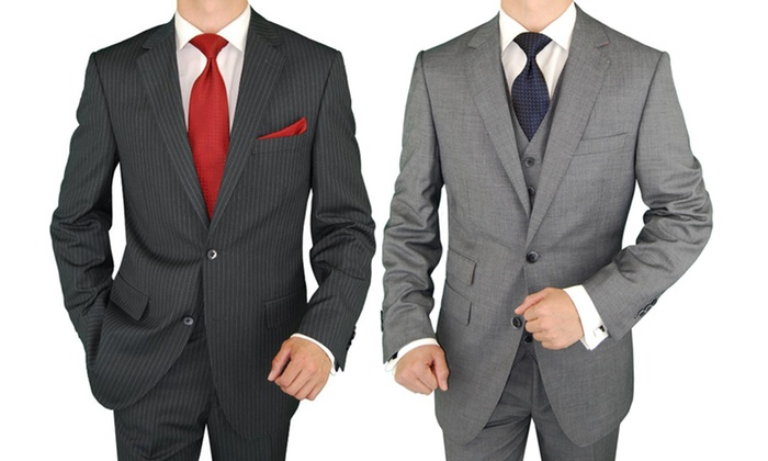Moda Italia Fine Men's Wear - Auzerais - Josefa: Men's Custom-Wardrobe Packages at Moda Italia (Up to 75% Off). Three Options Available.