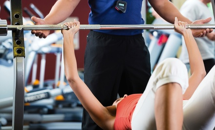 One-Month Full-Gym or CrossFit Membership at Gold's Gym McAllen (Up to 63% Off)