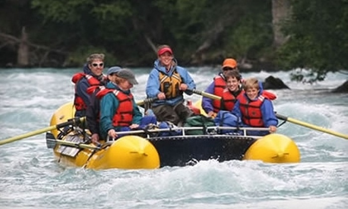 Alaska Wildland Adventures - Turnagain Arm: $54 for a Rafting Trip for Two from Alaska Wildland Adventures in Cooper Landing (Up to $108 Value). Three Date Ranges.