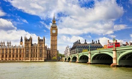 ✈Londres: 3 días y 2 noches con desayuno y vuelo directo de I/V desde Madrid o Barcelona en el Hotel Ashley London