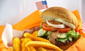 Frisco Lübeck: Burger nach Wahl mit einer Portion Pommes Frites für zwei oder vier Personen im Frisco Lübeck (bis zu 45% sparen*)