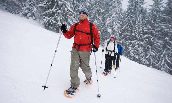 Blackcomb Adventures - Whistler: Trapper's Trail Snowshoe Tour for Two or Four from Blackcomb Adventures (Up to 53% Off)