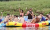 Boobs & Tubes - Multiple Locations: River-Tubing Excursion & Barbecue with Transport from Hoboken or Manhattan from Boobs & Tubes (Up to 59% Off)