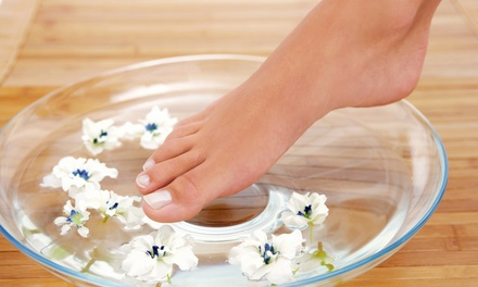 One or Three OPI Green-Tea Spa Pedicures at Facial Nails Salon (Up to 52% Off)