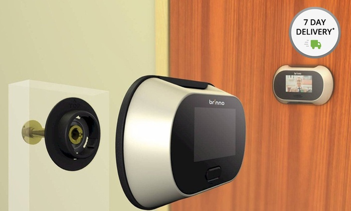 Brinno Digital Peephole Viewer with LCD Panel: Brinno Digital Peephole Viewer with LCD Panel. Free Returns.