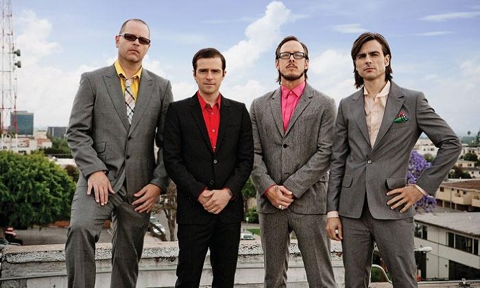 Weezer - Snowden Grove Amphitheatre: Weezer at                           Snowden Grove Amphitheater on August 13 at 7 p.m. (Up to 33% Off)