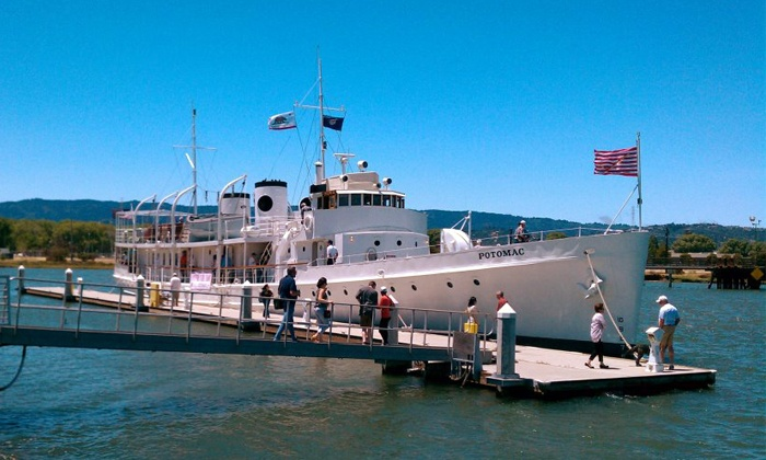 Presidential Yacht- USS Potomac - Oakland: Guided Tour for Two, Four, or Six of the USS Potomac: FDR's Presidential Yacht (Up to 50% Off )