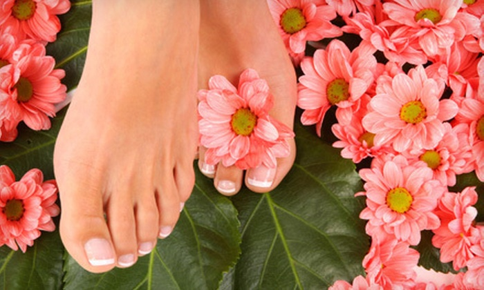 Amaka's International Hair and Body Spa - Durham: One or Three Pedicures with Foot Massage and Scrub at Amaka's International Hair and Body Spa in Durham (Up to 59% Off)