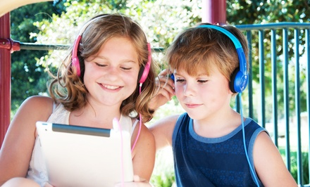 MEElectronics KidJamz Safe-Listening Headphones