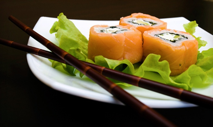 Kamon Japanese Restaurant - Central Sacramento: $11 for $20Worth of Sushi, Japanese Cuisine, and Drinks at Kamon Japanese Restaurant