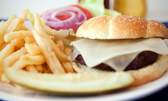 Broiler Bay - Shoreline: $10 for Two $10 Vouchers Good for Charbroiled Food and Drinks at Broiler Bay ($20 Value)
