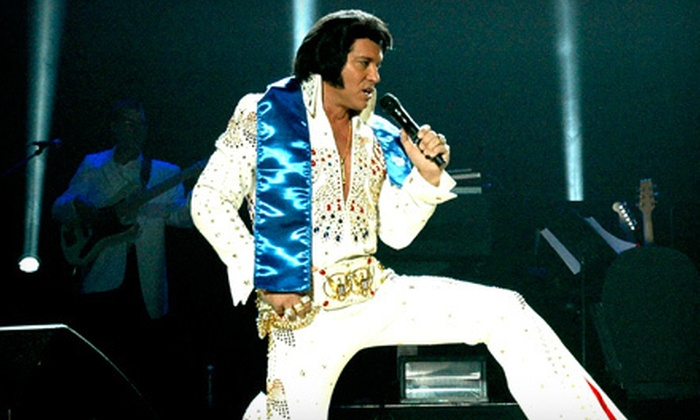 """Elvis Lives! - State Farm Arena: """"Elvis Lives!"""" Tribute Concert at State Farm Arena on February 26 at 7:30 p.m. (Up to 51% Off). Three Options Available."""