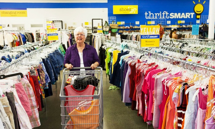 Thrift Smart - Multiple Locations: Gently Used Apparel and Accessories at ThriftSmart (Up to 52% Off). Two Options Available.