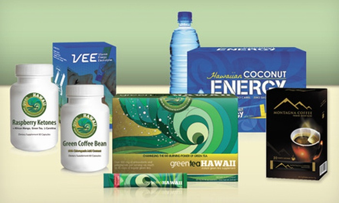 Green Tea Hawaii: Weight Loss Supplements from Green Tea Hawaii (Up to 57% Off). Three Options Available.