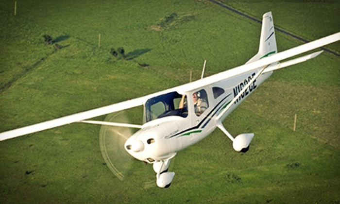 Sawyer Aviation - North Scottsdale: $99 for an Introductory-Flight Pilot Adventure at Sawyer Aviation ($250 Value)