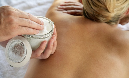 Exfoliating Sugar Scrub, Full-Body Wrap, and Wrinkle Reduction for One or Two at Rejuvenated Beginnings (Half Off)