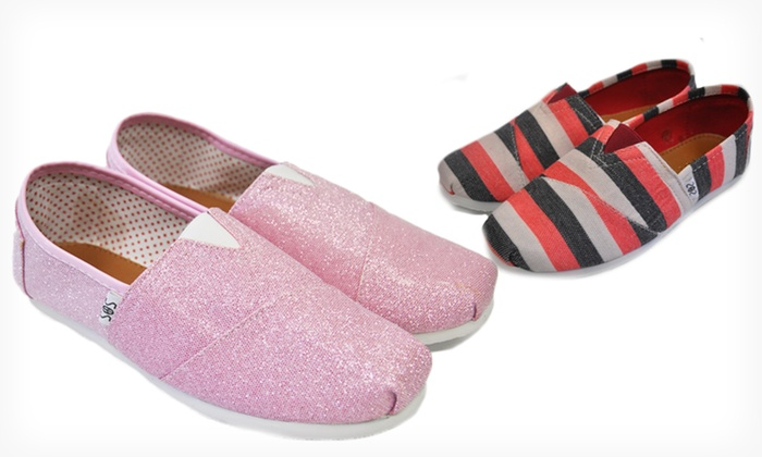 Shoes of Soul Slip-On Espadrilles: $19.99 for Shoes of Soul Slip-On Espadrilles (Up to $35 List Price). Multiple Colors Available. Free Shipping & Returns.