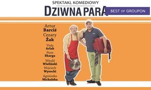 Impresariat  Adria: Od 75 zł: bilet na spektakl z udziałem Artura Barcisia i Cezarego Żaka