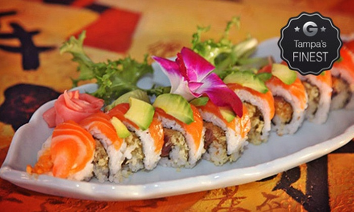 Tokyo Bay Japanese Restaurant - St. Petersburg: $13 for $26 Worth of Sushi and Japanese Cuisine at Tokyo Bay Japanese Restaurant
