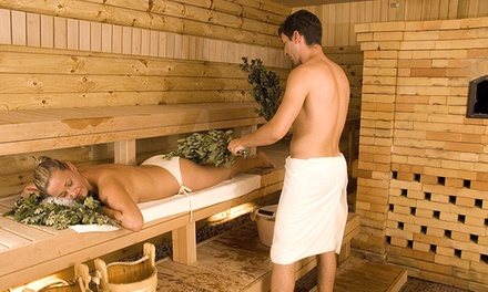 Dry Salt Sauna and Massage Session for One or Two at Banya Spa (Up to 64% Off)