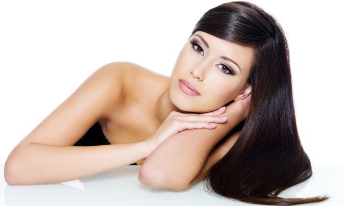 Hair by Mercedes - Cottonwood Heights: $175 for a Brazilian Blowout at Hair by Mercedes ($350 Value)