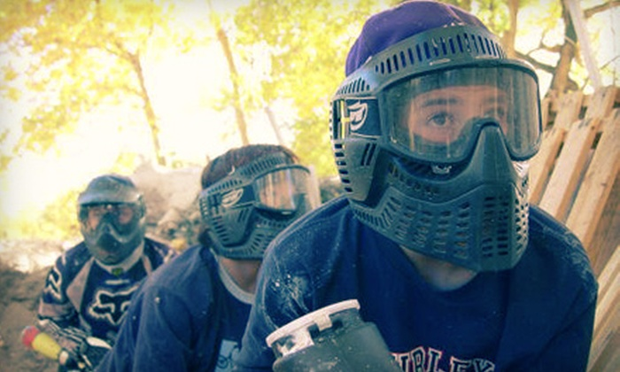 Paintball Adventures - Littleton: All-Day Paintball for Two, Four, or Eight with Rental Gear and Paintballs at Paintball Adventures (Up to 68% Off)
