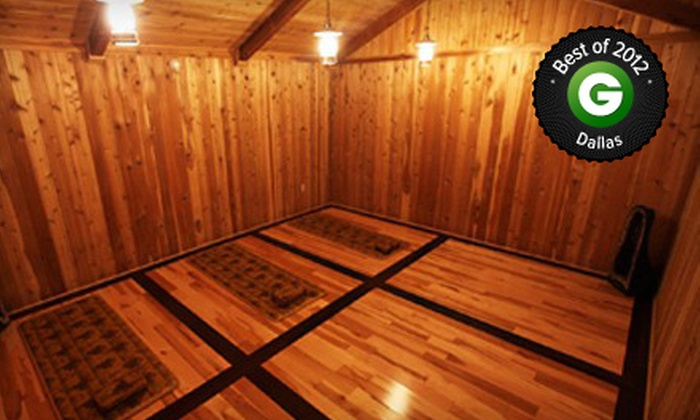 King Spa and Sauna -  King Spa & Waterpark : $15 for a Spa Day with Themed Therapy Rooms at King Spa and Sauna-Dallas ($27 Value)