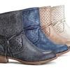 Henry Ferrera Catch Women's Perforated Ankle Boot