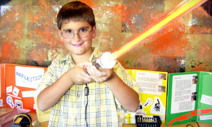 Explorit Science Center - Mace Ranch: Visit for Four with Option for Two Kids' T-shirts at Explorit Science Center (Half Off)