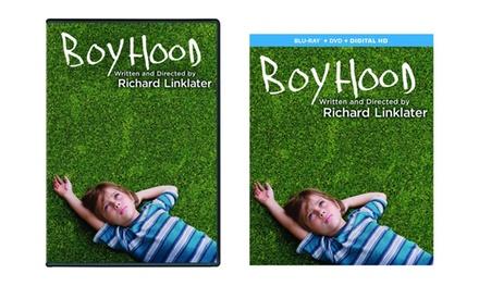 Boyhood on Blu-Ray or DVD