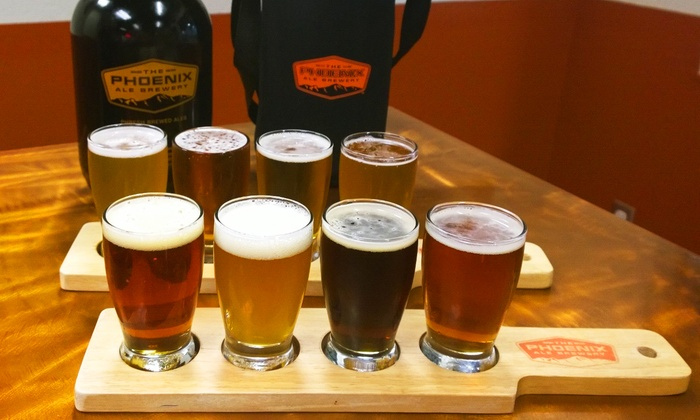 The Phoenix Ale Brewery - Central City: $24 for Beer Tasting Flight, Plus Souvenir Growler at The Phoenix Ale Brewery ($40 Value)