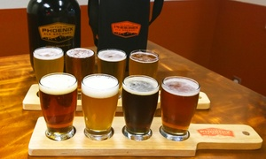 The Phoenix Ale Brewery: $24 for Beer Tasting Flight, Plus Souvenir Growler at The Phoenix Ale Brewery ($40 Value)