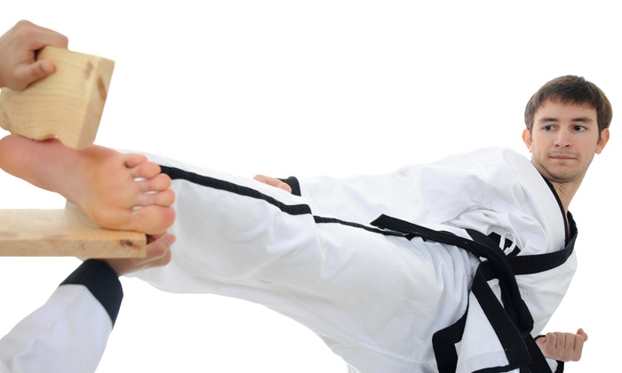 US Taekwondo - Center: One Month of Semiweekly Martial-Arts Classes for One or Two at Us Taekwondo (Up to 82% Off)