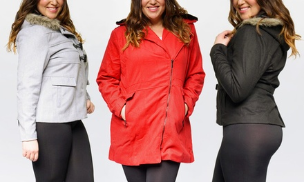 Women's Plus Size Coat