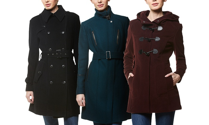 Cole Haan: Cole Haan Women's Wool Jackets. Three Styles Available from $239–$289.