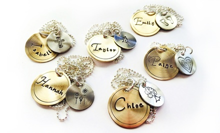 One or Two Mixed Metal Necklaces from LillyEllenDesigns (Up to 63% Off)