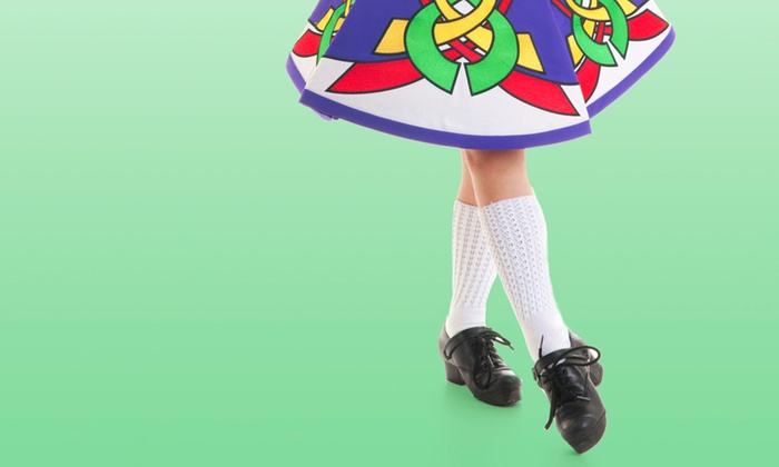 Irwin Academy of Irish Dance - Multiple Locations: 5 or 10 Irish Step-Dance Classes, or One Month of Unlimited Classes at Irwin Academy of Irish Dance (Up to 51% Off)
