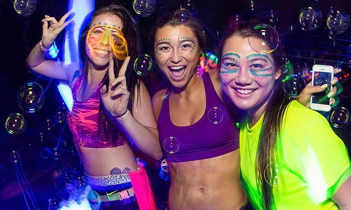 Blacklight Bubble Party 5k - Florida Horse Park: Race Entry for One or Two on Saturday, February 28 to the Blacklight Bubble Party 5K (50% Off)