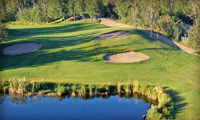 Whispering Pines Golf & Country Club Resort - Pinelake: Golf Outing for Two or Four with Range Balls at Whispering Pines Golf & Country Club Resort (Up to 58% Off)
