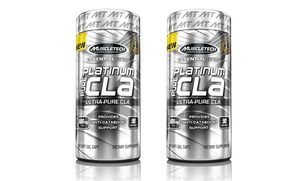 90- or 180-Count Muscletech Essential Series Pure CLA Supplements
