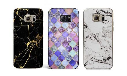 Carcasa efecto mármol para Samsung