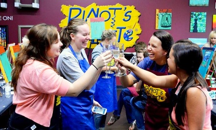 $23 for a Three-Hour Paint and Sip Art Session for One ($45 Value)