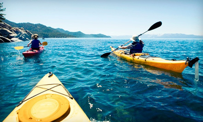 Kinni Kayak - Multiple Locations: $49 for Kayak Trip for Two with Drinks and Appetizer from Kinni Kayak ($125 Value)