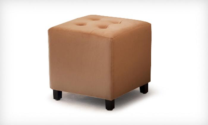 Lincoln Camel Microfiber Cube Ottoman: $49 for a Lincoln Camel Microfiber Cube Ottoman ($99.99 List Price). Free Shipping.