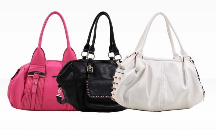 Ruby Couture Satchel Handbag: Ruby Couture Satchel Handbags. Multiple Styles Available. Free Shipping and Returns.