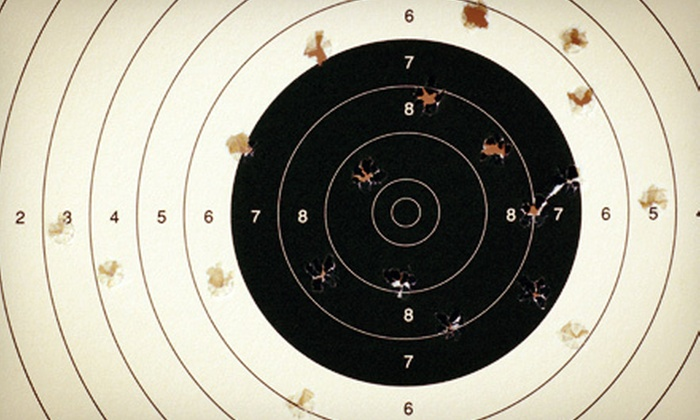 Home Defense Site - Bayonne: Five-Gun Shooting-Range Experience with Safety Briefing, Ammunition, and T-shirt at Home Defense Site ($150 Value)