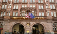 Afternoon Tea with a Glass of Prosecco for Two at The Midland Hotel, Central Manchester (36% Off)