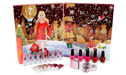 One £16.99 or Two £31.99 W7 Cosmetics Advent Calendars 2016