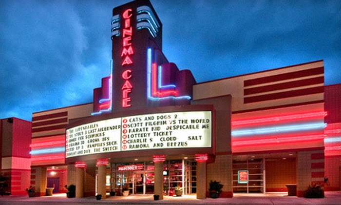 Cinema Cafe - Multiple Locations: $10 for $20 Worth of American Cuisine and Movie Concessions at Cinema Cafe